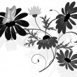 Wildflowers2 - Stock Vector