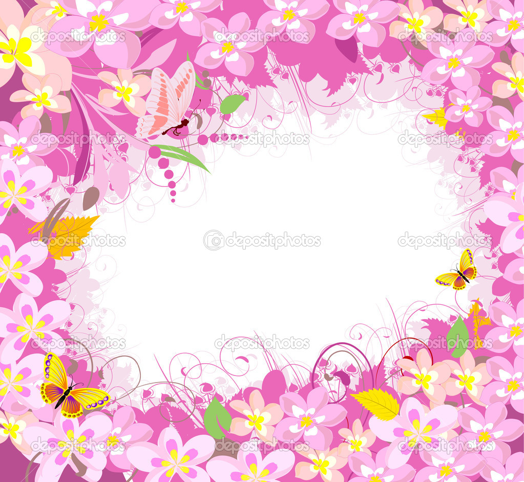 Flower Frame — Stock Vector #1771180