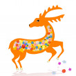 Royalty-Free Stock Vector Image: Deer