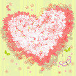 Royalty-Free Stock Vector Image: Floral valentine