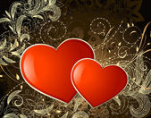 Valentine gold2 — Stock Vector