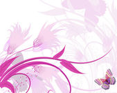 Floral fantasy3 — Stock Vector