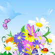 Royalty-Free Stock Vector Image: Wildflowers