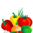Vegetables2 — Vector de stock #2213872
