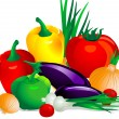 Vegetables3 — Vector de stock #2213906