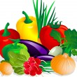 Vegetables — Vector de stock #2235301