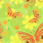 Floreali background3 senza saldatura — Vettoriale Stock