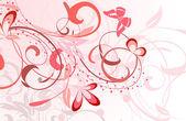 çiçek desenleri — Stok Vektör