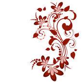 BlomdekorKvětinové dekorace — Stock vektor
