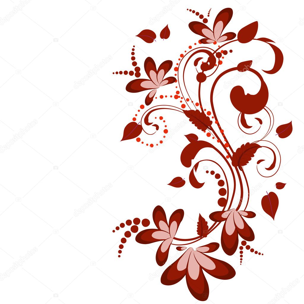 Floral decoration — Stock Vector #2550633
