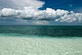 Ocean to horizon — Stock Photo