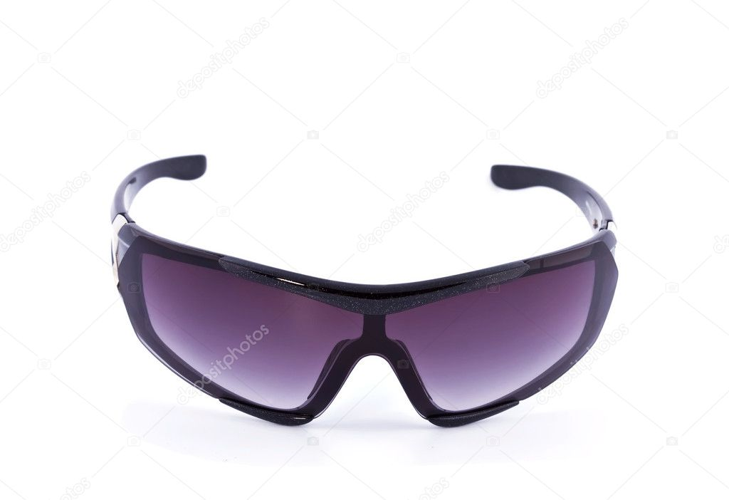 Goggles for the skiing, isolated on a white background — Stock Photo #1056148