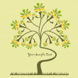 Royalty-Free Stock Vector Image: Background with a tree