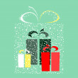 Royalty-Free Stock Imagem Vetorial: Stylized gift vector