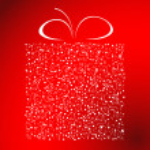 stiliserade gåva vektor — Stockvektor  #1076612
