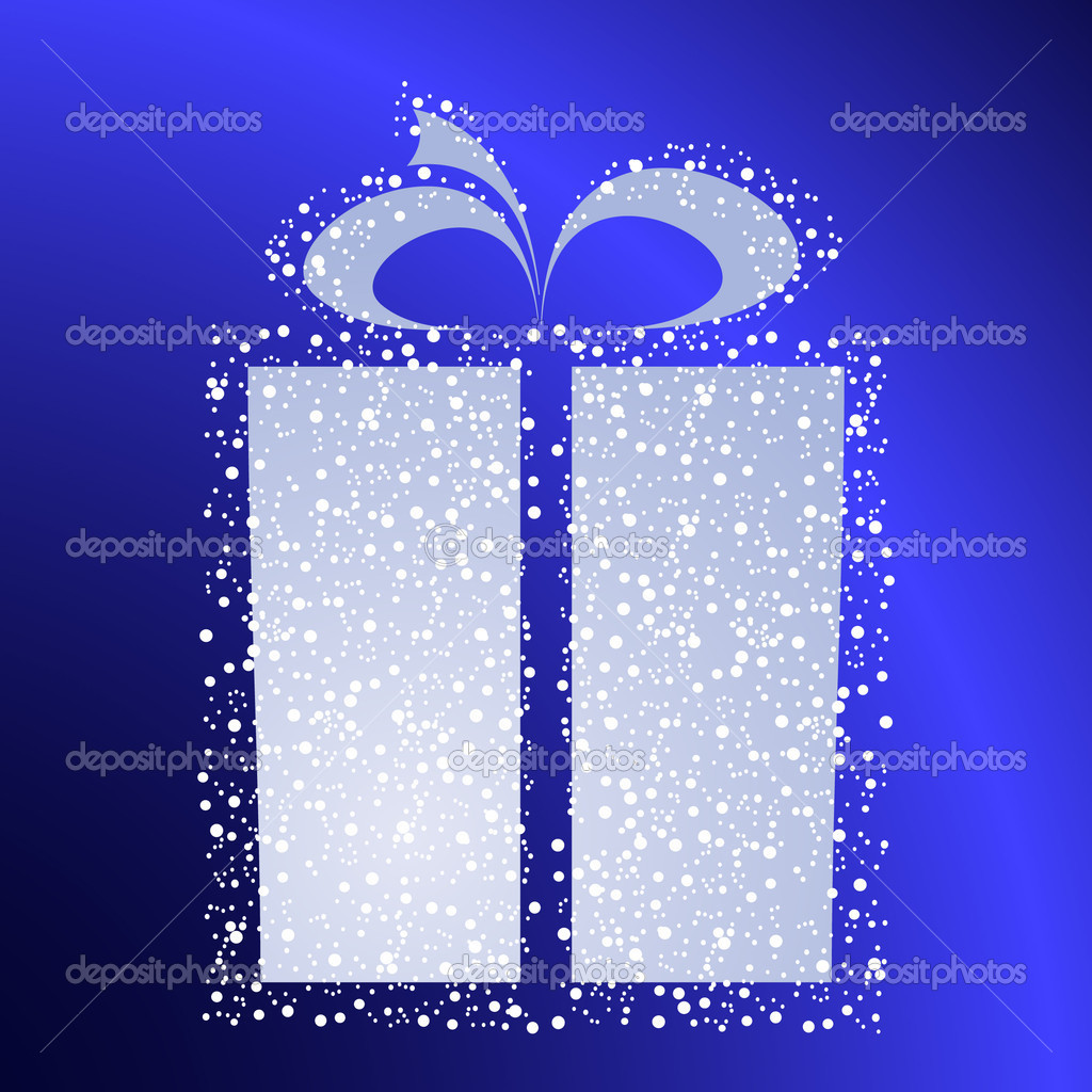 Stylized gift vector — Stock Vector #1076608