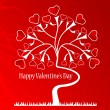 Royalty-Free Stock Vector: Valentine background
