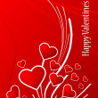 Valentine background — Vector de stock #2007810