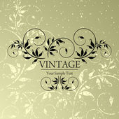 Vintage background — Vecteur
