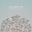 Royalty-Free Stock Imagen vectorial: Floral background