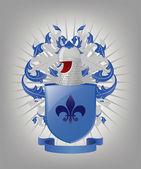 The heraldic arms. — Stock Vector
