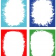 Royalty-Free Stock Vector Image: Set of frames for design.
