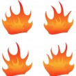 Royalty-Free Stock Vector Image: Flame.