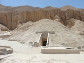 Ancient Egyptian pyramids — Stock Photo