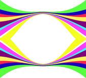 Abstract colour lines. Vector illustrati — Stock Vector