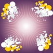 Royalty-Free Stock Imagem Vetorial: Combination of circles Vector illustrati