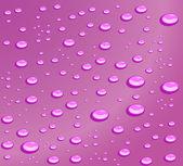 水 drops.vector 図 — ストックベクタ