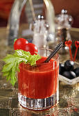 Cocktail Bloody Mary — Stock Photo