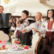 Ukrainiethnic music band concert — Stock Photo #1094635