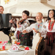 Stock Photo: Ukrainiethnic music band concert