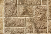 Ashlar wall with brickwork pattern — Stock Photo