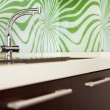 Part of modern Kitchen with sink — Foto Stock