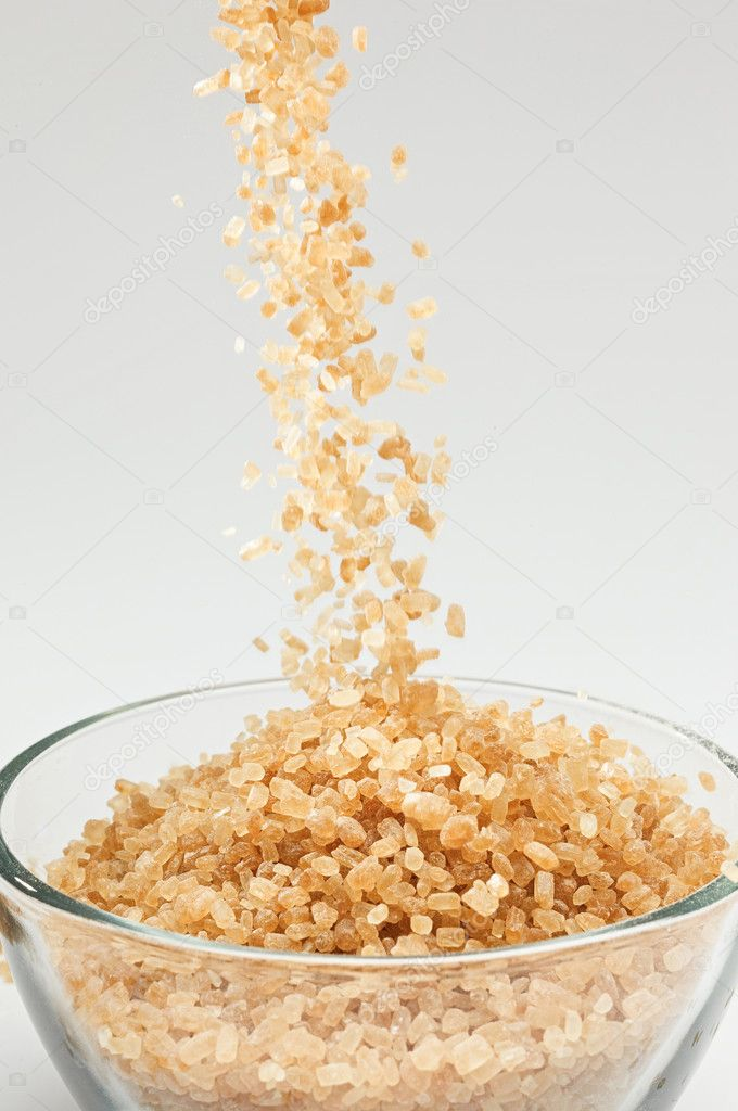 Falling cane sugar — Stock Photo #2385647