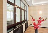 Lege woonkamer interieur — Stockfoto