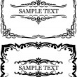 Royalty-Free Stock Vector Image: Decorative frames.