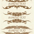 Royalty-Free Stock Vector Image: Elegant texts frames.