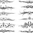 Royalty-Free Stock Vector Image: Elements for design or tattoo.