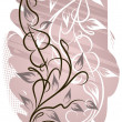 Abstract floral background. - Stok Vektör