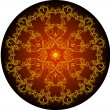 Royalty-Free Stock : Flowered round design