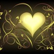Royalty-Free Stock Vektorfiler: Valentine heart. Vector illustration.
