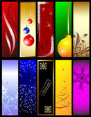 Beautiful elements for Christmas design. — Stock Vector