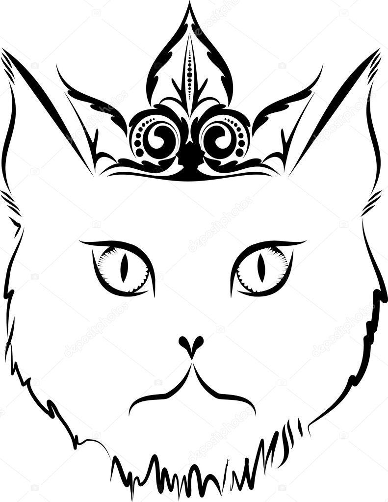 cat tattoo Zombie Pin Up