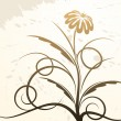 Royalty-Free Stock Imagen vectorial: Floral decor.