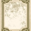 Vintage vector background. - Image vectorielle