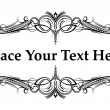 Royalty-Free Stock Imagem Vetorial: Elegant frame for text