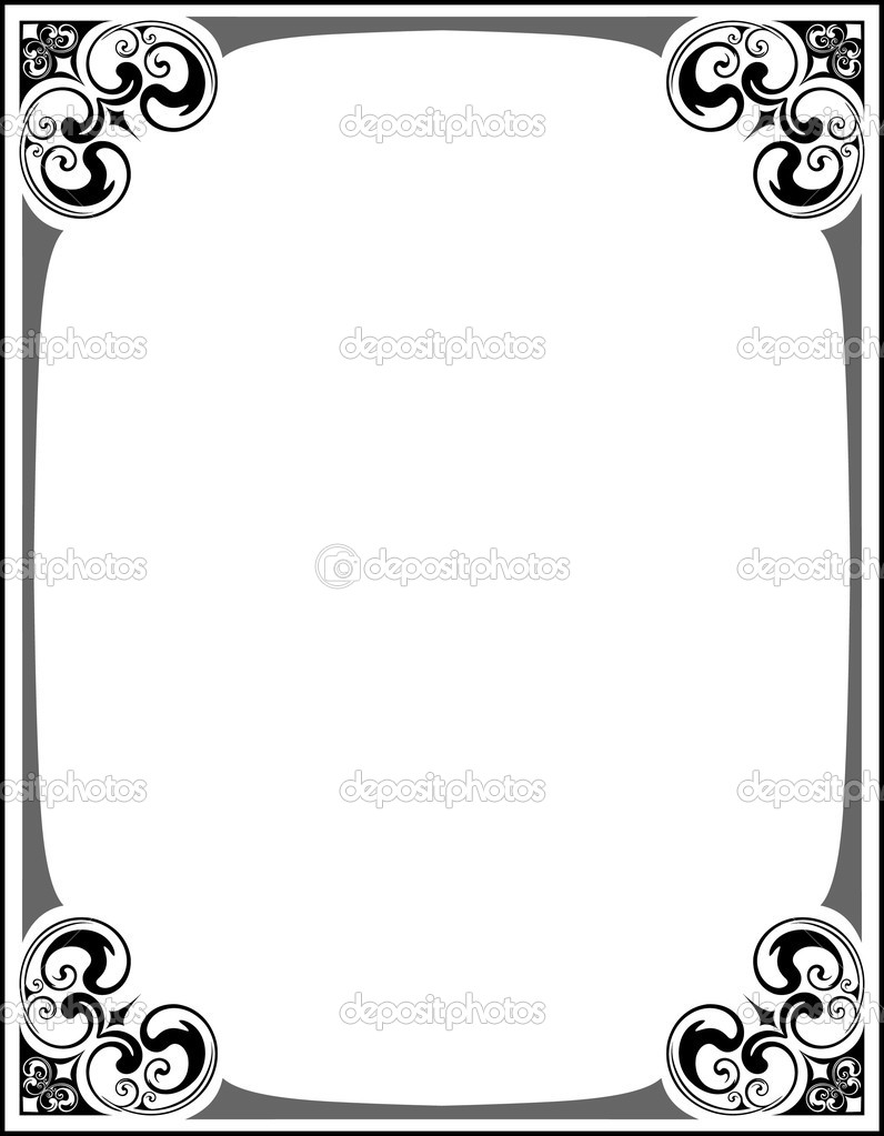 Decorative frame.  Stock Vector #1126227